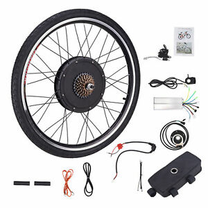 26 Zoll Hinterrad 1000W 48V Elektro-Fahrrad Kit Ebike Elektrofahrrad Umbausatz