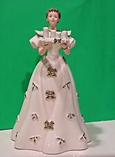 LENOX 2013 annual CLASSIC Christmas Figurine NEW nBOX COA Come Light The Candles