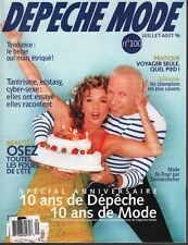 Depeche Mode French Magazine Juillet-Aout 1996 Victoria Abril 091319AME