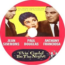 This Could Be the Night DVD Jean Simmons Paul Douglas 1957 V rare