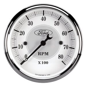 Autometer 880088 Tachometer Gauge 8000RPM for Ford