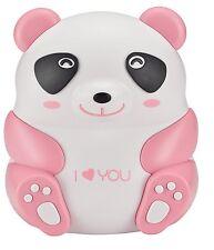 Child Pediatric Nebulizer Compressor Treats Asthma COPD Pink Panda Bear MQ6005