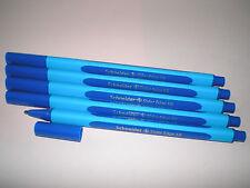 5 x Schneider Slider Edge XB Kugelschreiber blau 152203 Viscoglide-Technology