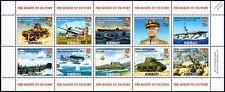 WWII Route To Victory/Battle of Tarawa Aircraft & Ship Stamp Sheet/2005 Kiribati