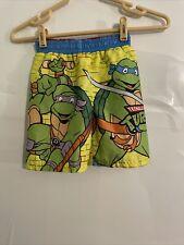 2015 Teenage Mutant Ninja Turtles Toddler Boy's Swim Trunks Sz 3T