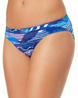 Lauren Ralph Lauren Womens Swimsuit Calypso Bikini Bottoms 14 Blue