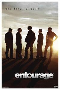 Entourage Season 8 TV Show Poster 12x18 inch
