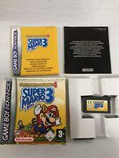 Super Mario Bros 3 - Super Mario Advance 4 - Game Boy / GBA - Complet - VF - TBE