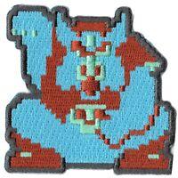 Nintendo The Legend of Zelda Ganon 8Bit Embroidered Iron on Patch