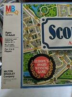 Scotland Yard Board Game from Milton Bradley 1985 Detective Game