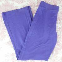 Circo Girls Pants Pull On Elastic Waist Drawstring Size XL 14/16 Purple