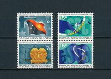 Papua New Guinea  340-3 MNH, Flags & Commission, 1972