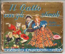 IL GATTO CON GLI STIVALI - BARBA BLU ; disegni di F. Mauro e E. Anichini ; 1944