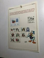 2019 Bollettino Illustrativo 85 Anni Paperino Donald Duck Disney LE of 1500
