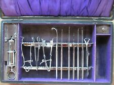 ANTIQUE RARE OCULIST INSTRUMENTS IN ORIGINAL BOX DAMAGED