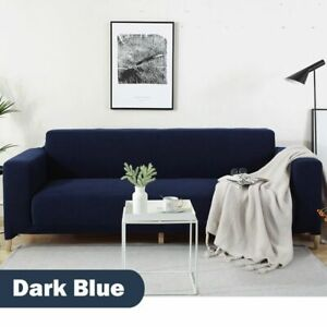 1 2 3 4 Seat Waterproof Stretch Jacquard Sofa Couch Cover Loveseat Slipcover