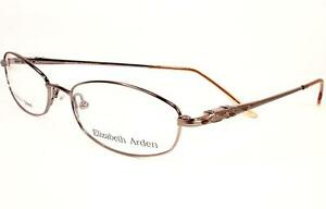 Elizabeth Arden Eyeglasses 6034 Gold 1 Women 52-17-135 Frames