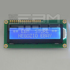 Display BLU 16x2 - lcd retroilluminato HD44780 arduino pic - ART. Z002