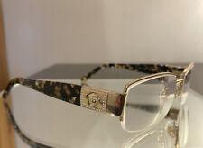 Versace Prescription Unisex Semi-Rimless Gold/Crystals Eye Glasses MOD 1175-B