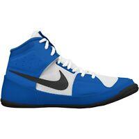 Nike Fury Wrestling Shoes (boots) Boxing Boots Adult Kids Ringerschuhe Blue