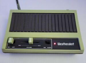Vintage WeatherAlert TA-17 ~ Weather Radio, Wx, NOAA, Emergency Weather.