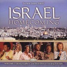 BILL & GLORIA GAITHER & FRIENDS: ISRAEL HOMECOMING CD! GAITHER GOSPEL SERIES! EX