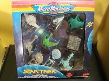 Star Trek Collectors Set Micro Machines Galoob U.S.S. Enterprise Klingon Vor'Cha
