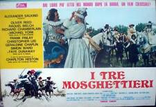 fotobusta '74 I TRE MOSCHETTIERI-The Three Musketeers-Oliver Reed-Raquel Welch-2