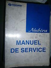 Daewoo NUBIRA 1998 : Workshop manual incomplete