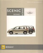 Renault Scenic Grand Scenic Dynamique S Limited Edition 2006 UK Market Brochure