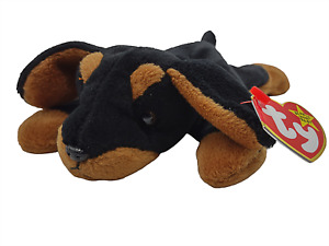 Ty Beanie Baby Doby The Dog Collectible Plush Retired Vintage Original New