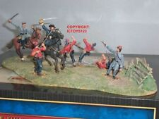 Painted Lead American 6-10 Toy Soldiers
