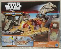 *Brand New* Star Wars Force Hasbro 2015 Micro Machines Millennium Falcon Playset