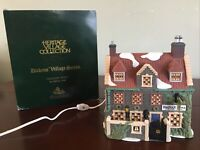 Department 56 Dickens Village Dedlock Arms w Box & Light Works Tested Works Read