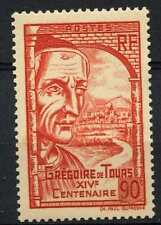 France 1939 SG#649 St. Gregory Of Tours MH #D96372