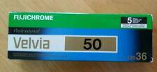 FujiChrome Velvia 50 35mm-36 Color Slide Film ProPack 5 Rolls Vintage  Exp 03/18