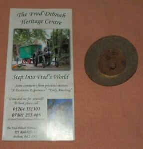 Fred Dibnah grinding wheel from Fred's shed