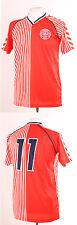 Le Danemark rétro coupe du monde 1986 Laudrup 11 Football Shirt 4XL rouge