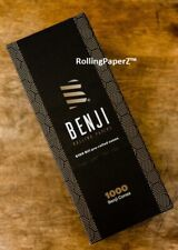 BENJI® 1000 Pack Pre-Rolled $100 Dollar Bill Print Cones Finest Rolling Paper