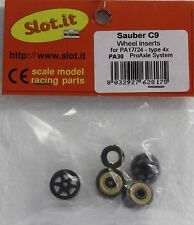 SLOT IT SIPA30 SLOT IT MERCEDES SMALL HUB WHEEL INSERTS 1/32 SLOT CAR PARTS