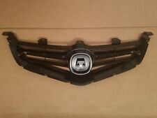 fits 2004-2005 Acura Tsx Front Bumper Grille Black Panel New (Fits: Acura)