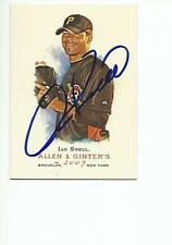 IAN SNELL Autographed Signed 2007 Allen & Ginter's card Pittsburgh Pirates COA