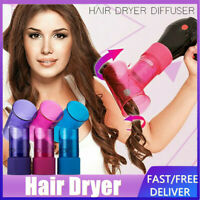 Hair Dryer Curler Roller Diffuser Magic Wind Spin Curl Hair Salon Styling Tools!