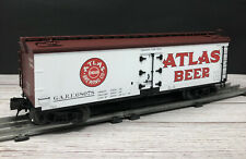 Atlas 8100 O Atlas Beer 3-Rail Woodside Reefer Car  LN/Box