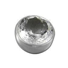 Schmuck-Michel Anhänger Silber 925 Bergkristall 15 mm  12 ct - Highlight (N17)
