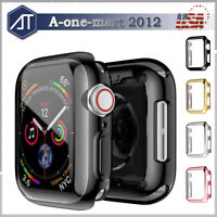 Apple Watch Case Hard Bumper Full Cover Screen Protector For Series 3 38mm/42mm