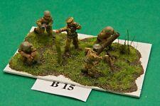 SGTS MESS CB10 1//72 Diecast Cold War British Artillery Crew-Four Figures
