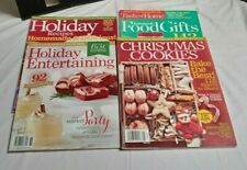 Lot of 4 Holiday Collector's Magazines Better Homes and Garden & Taste of Home