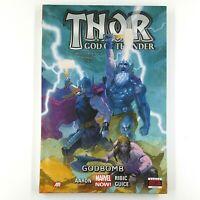 THOR - GOD OF THUNDER Volume 2: Godbomb (Hardcover, 2013) Jason Aaron