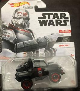 Bad Batch WRECKER - STAR WARS: Hot Wheels Character Car, Clone Wars, Rare, NEW